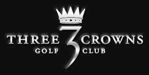 Three Crowns Golf Club Logo