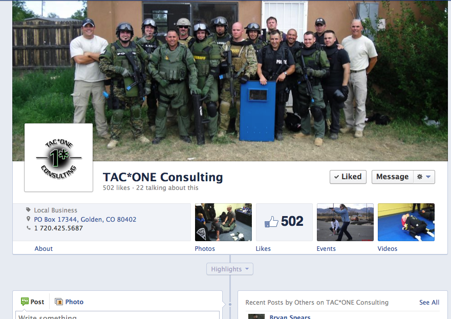 Tac One Consulting on Facebook