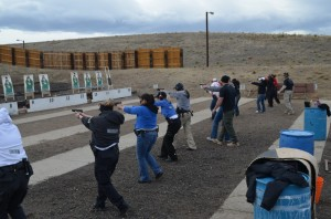 womens shooter rifle course