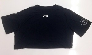 black under armor tshirt
