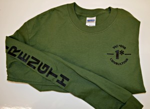 green long sleeve strength