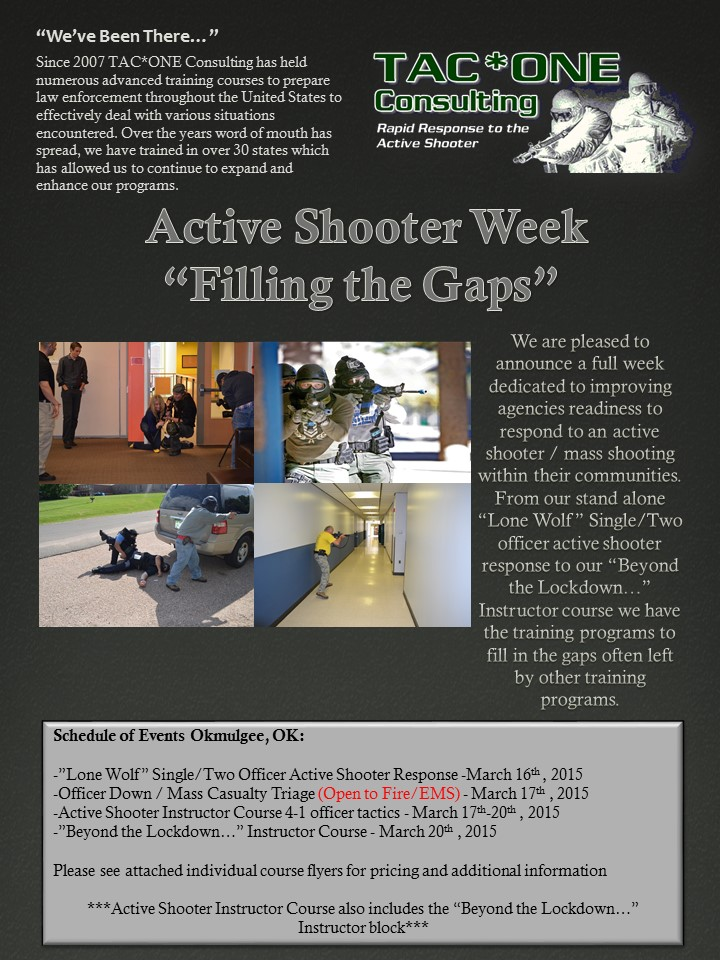 Active Shooter Instructor Ok